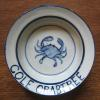 Crab design  3 piece set in the design of your choice $80; bowl or plate alone  $38 cup alone $20
