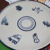 Larger platter with several designs created for the special family!  Price based on size and number of designs