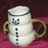 snowman syrup or milk pitcher  $50