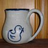 Mug with drawn duck design  $29