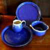 Dinnerware  4 piece place setting includes dinner plate and a mug the other 2 pieces may be 2 bowls, 2 plates or combination $135  or choose a set of dessert/lunch plates or set of dessert bowls price varies
