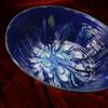 Blue Northern lights bowl All Chatham Pottery pieces can be used in the conventional oven, microwave oven and the dishwasher